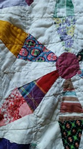 A closeup of some of my favorite fabrics.